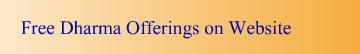 Gradient Free Dharma Offferings