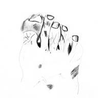 Jill foot drawing cropped