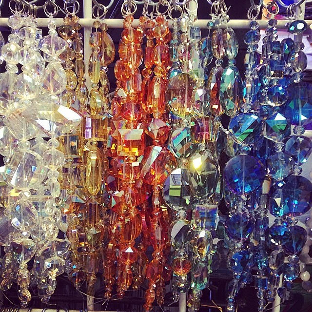 Great new artisan crystal strands from #cherrytreebeads trunkshow.  Only $9.00 a strand at The Bead Biz