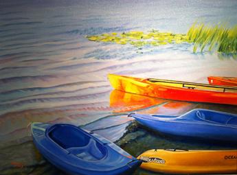 Darlene Jones-kayaks