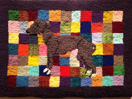 Daly-Greyhound rug