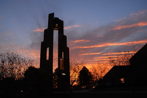 Rice Bell Tower at Taylor University