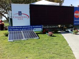 Solar Powered Score Board