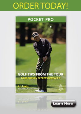 Pocket Pro edition of Golf Tips from the Tour by J.L. Lewis