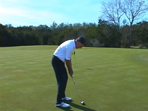 J.L. Lewis Putt with Your Eyes Closed