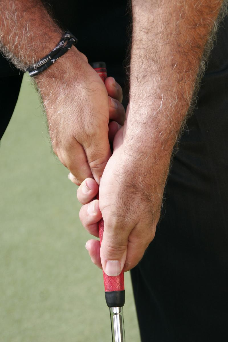 J.L. Lewis Cross-Handed Grip