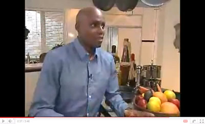 Carl Lewis Vegan Diet Video