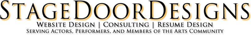 Stage Door Designs Logo