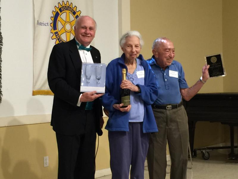 three-quarter century award ceremony