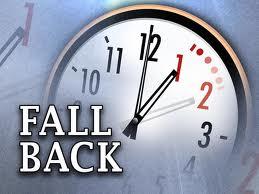 Fall Back Clock