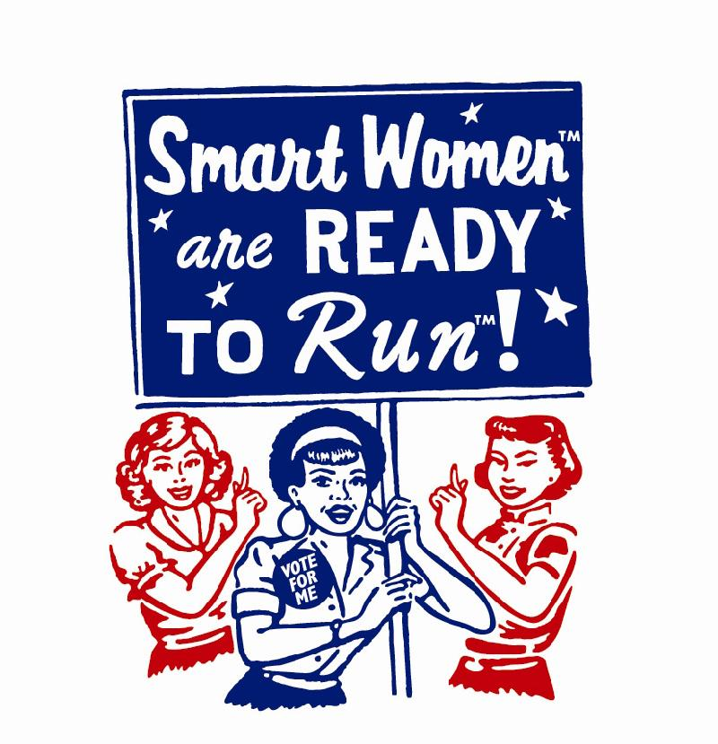 Smart Women are Ready to Run art
