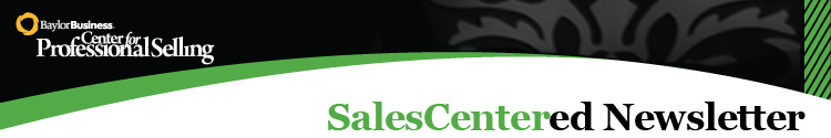 SalesCentered Newsletter Header