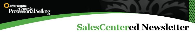 SalesCentered Newsletter Header