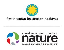 Smithsonian Institution Archives and Canadian Museum of Nature Logos