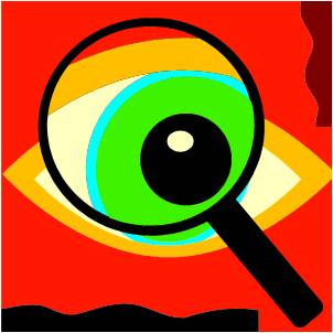 research - magnifying glass