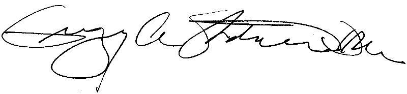 Greg Stoddard Signature