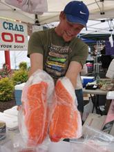 matt with salmon