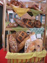 delphina's bread display