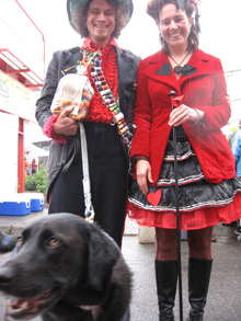 winners of the pet parade 2010