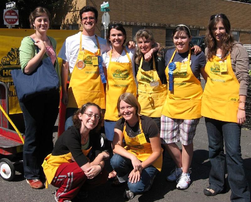 2008 volunteers
