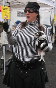 ramona and her dog