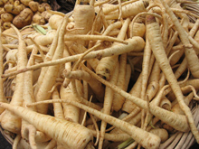 pile of parsnips