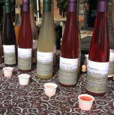 several drinking vinegars