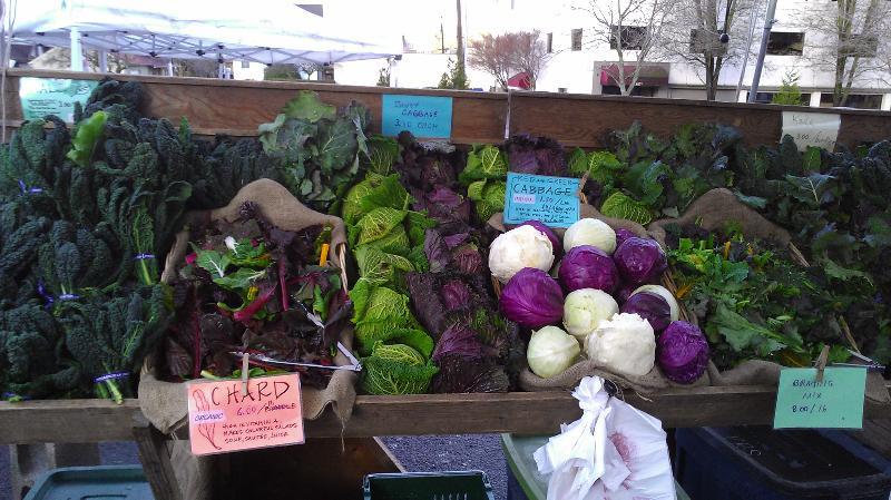 persephone farm winter veggies