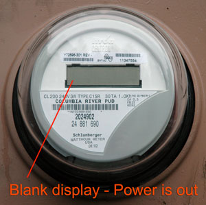 Photo of meter without power.