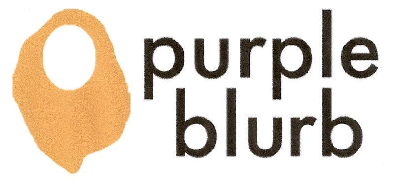 purple blurb