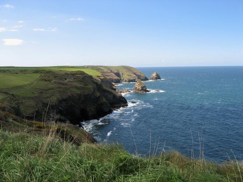 Cornwall coastline