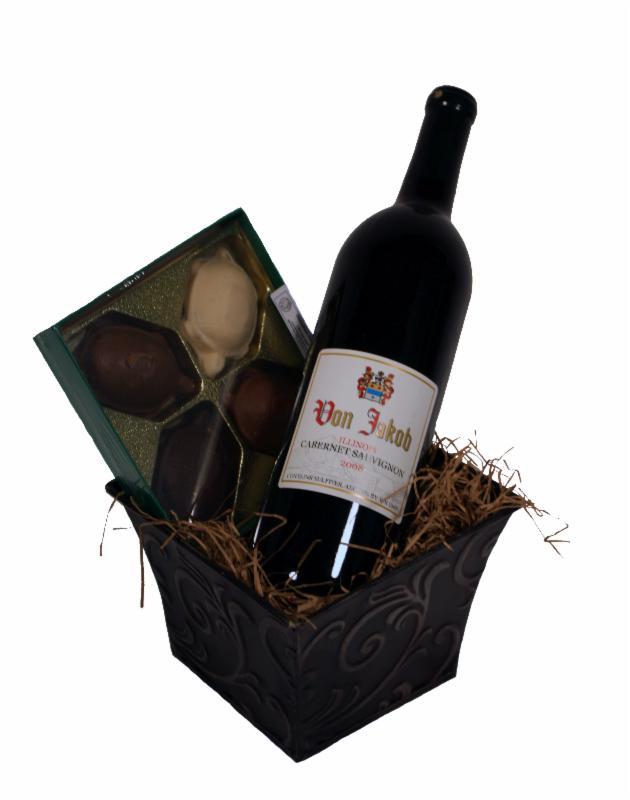 Cab & Chocolate Gift Basket