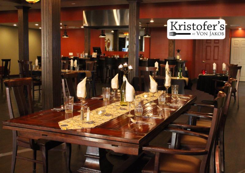 Kristofer's Restaurant at Von Jakob