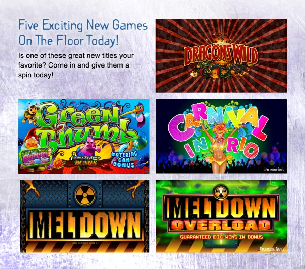 New Games at NNC