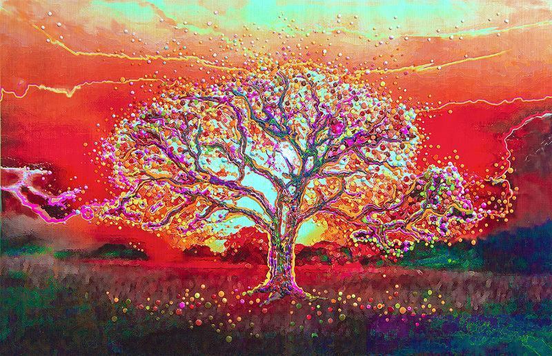 Theta Healing Tree Constant Contact