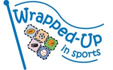 Wrapped Up in Sports Logo