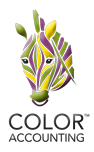 Color Accounting Logo