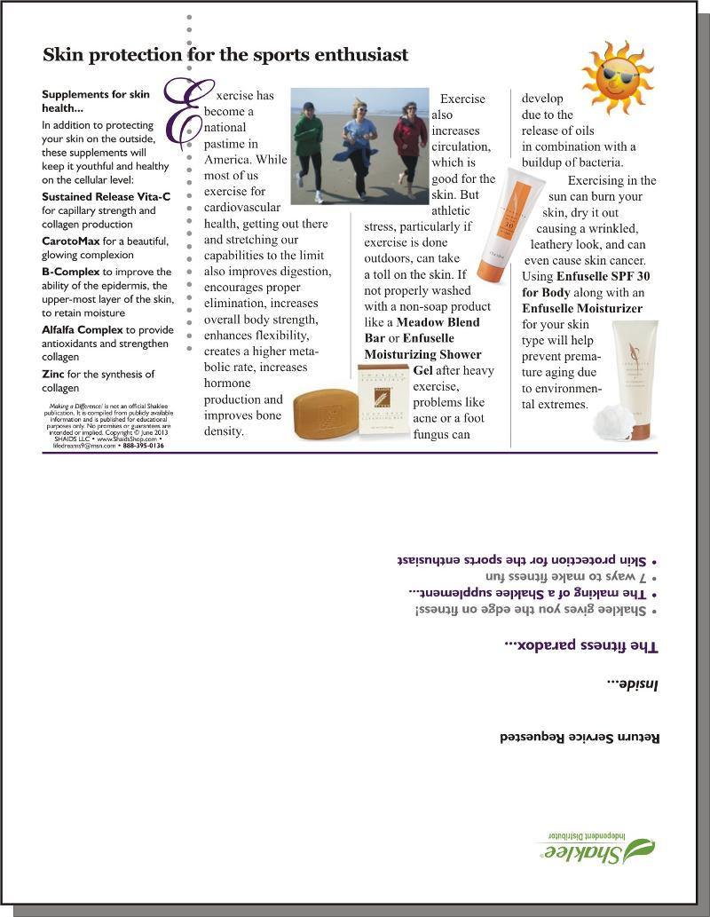 Making a Difference! Issue #127 - Page 4