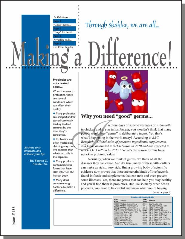 Making a Difference! Issue #133 - Page 1