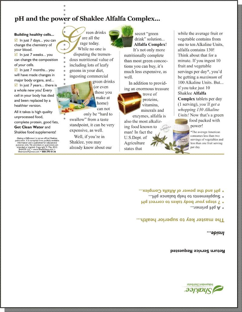 Making a Difference! Issue #126 - Page 4