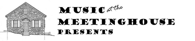 Music at the Meetinghouse Presents... (logo)