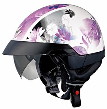 Lilly helmet purple