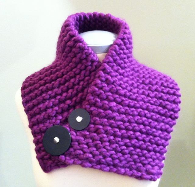 Learn to Knit Cowl
