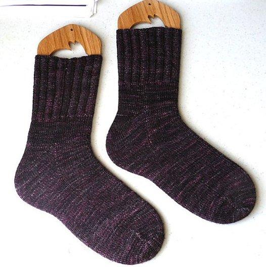Toe Up Socks