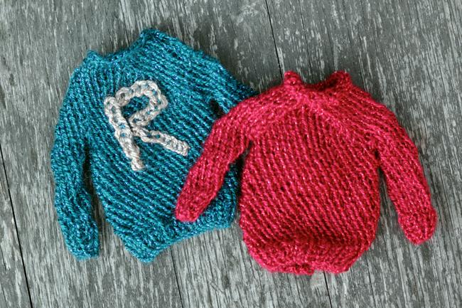 Free Knitting Patterns For Sweater Ornaments : nina   new stuff