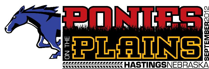 Ponies on the Plains logo
