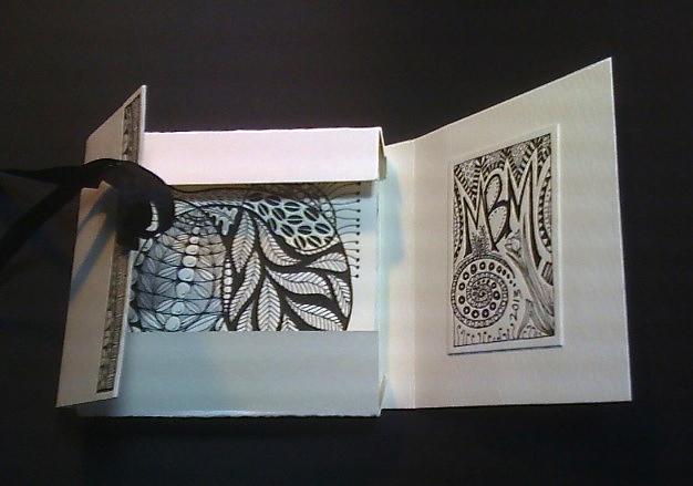 Zentangle Casement-Open