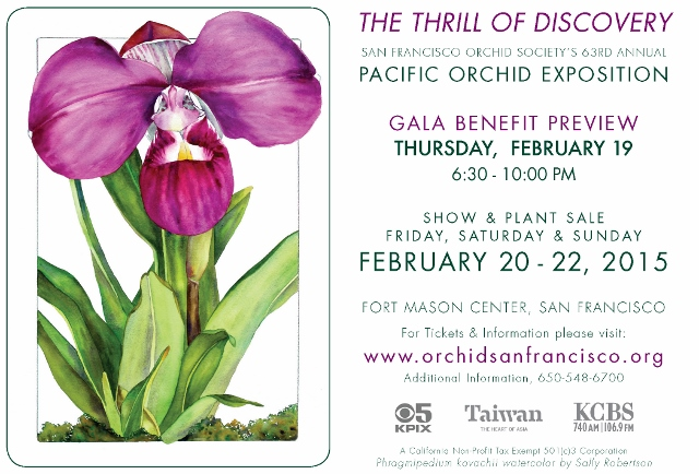 Pacific Orchid Exposition 2015