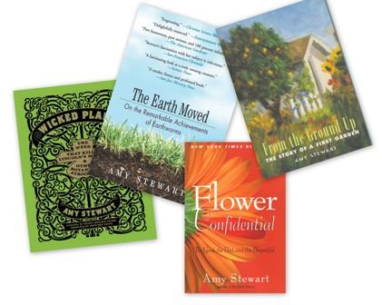 Amy Stewart Book Collage