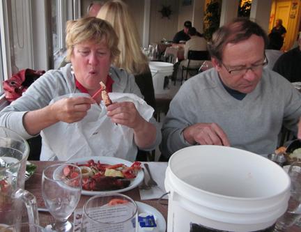 Lobster in Baddeck
